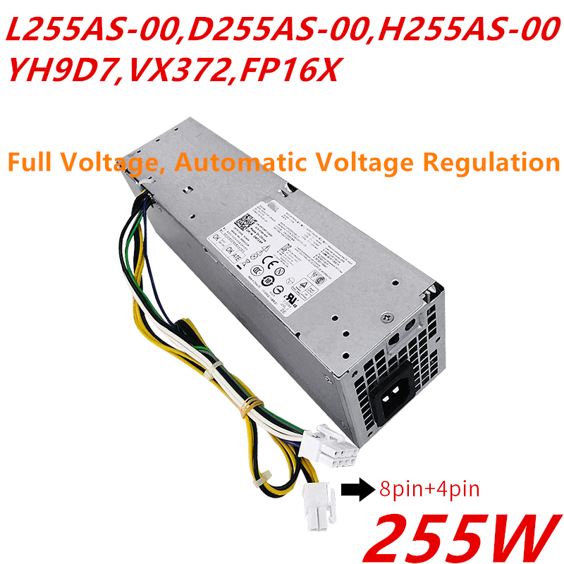 255W H255ES-00 HU255AS-00 Desktop Power Supply for Dell Optiplex 3020 7020 9020