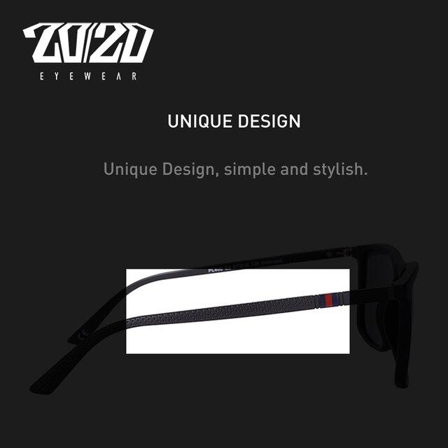 20/20 Design Brand New Polarized Sunglasses Men Fashion Trend Accessory Male Eyewear Sun Glasses Oculos Gafas PL400 6