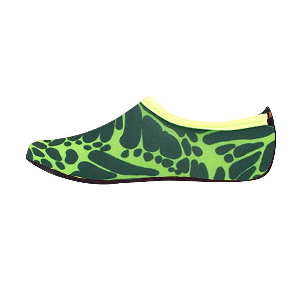 Plaj su spor çoraplar yüzme ayakkabı erkek çizgili plaj ayakkabısı dalış çorapları sürüklenen nehir Anti kayma Yoga spor ayakkabı