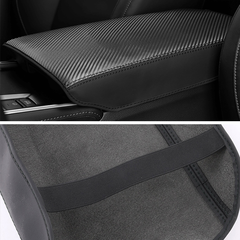 Image 5 - Leather Car Armrest Pad Covers Console Auto Seat Arm Rest Pad Protection Cushion Mat AT For Honda Accord 10th 2018 Accessories-in Interior Mouldings from Automobiles & Motorcycles