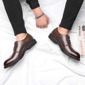 Image 5 - 37 44 Mensอย่างเป็นทางการรองเท้าธุรกิจสบายสไตล์สุภาพบุรุษรองเท้าผู้ชาย #2033