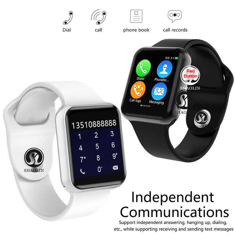 50% off 42 مللي متر ساعة ذكية سلسلة 4 ساعة دفع رسالة بلوتوث الاتصال للهاتف أندرويد IOS أبل آيفون 5 7 8 X Smartwatch