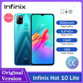 Infinix Горячая 10 Lite смартфонов 6,6