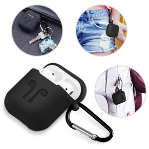Image 4 - Soft Silicone Case For Apple Airpods Shockproof Cover Earphone Case For Air Pods  Protective Cover Waterproof