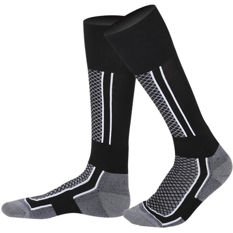 Men Women Skiing Socks Winter Outdoor Sport Snowboarding Hiking Ski Socks Cycling Soccer Warm Thicker Cotton Thermosocks