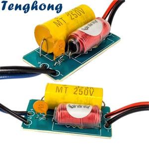 Image 1 - Tenghong 2 قطعة 1 طريقة النقي الصوت التريبل المتحدثون كروس 40W 4/6Ohm سيارة تعديل مكبر كروس تصفية تردد مقسم DIY