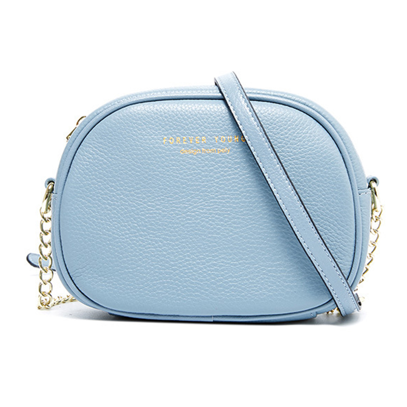 Fashion Genuine Leather Handbag High Quality Messenger Bag Young Color Mini Bag Girl Fashion Small Cute Shoulder Bag
