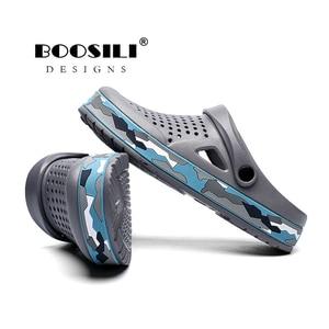 Image 5 - Sapato Feminino חדש Mens Eva סנדל באיכות גבוהה גברים של גן נעלי קיץ סנדלים לנשימה כפכפים קל משקל גדול גודל 45
