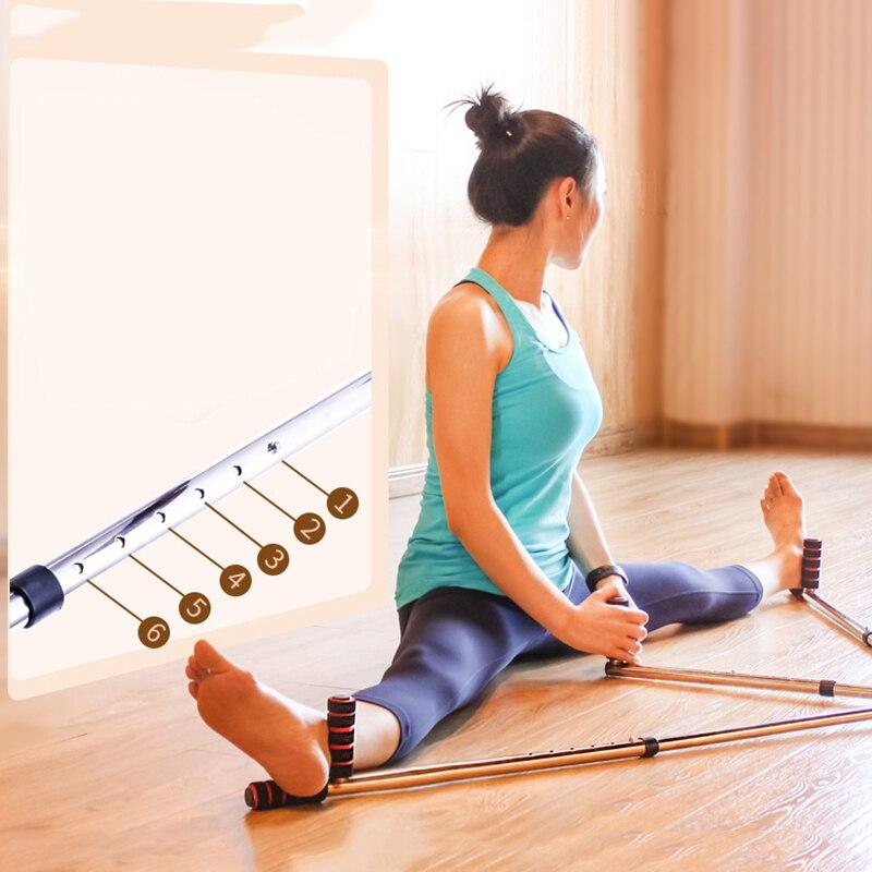 Stretch Training Equipment Steel 3 Bar Leg Stretcher Karate Stretching Machine For Yoga Dance Arts Legs Stretch