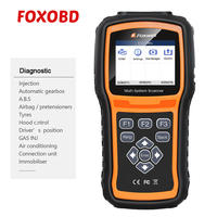 Foxwell NT530 Multi System Scanner Support Latest BMW 2018/2019 & F Chassis Update Version of NT520
