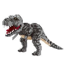 Мини динозавр Юрского периода мир тираннозавра Рекс Велоцираптор