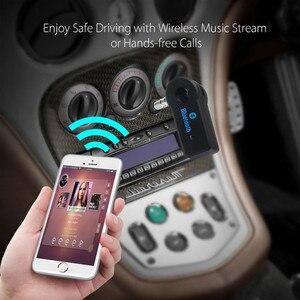 Image 4 - VIKEFON Bluetooth Audio Receiver Stereo 3.5mm Jack AUX Bluetooth Adapter MP3 Car Transmitter Wireless Speaker Headphone Adapter