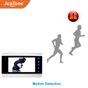 Image 3 - JeaTone Smart WiFi Tuya 7 Home Video Door Phone System with Voice Message/Motion Detection/MP4 Player, Support Remote Control