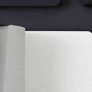 Image 5 - Cuaderno mágico negro A6 con bolígrafo, juego de mano, caja de regalo, Bloc de notas de piel sintética suave, pequeño libro de bolsillo cuadrado