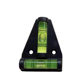 Wysokiej jakości 1 sztuk partia akrylowe T-poziomica samochód kempingowy Tralier samochód kempingowy ciężarówka łodzi stół konsolowy pomiaru Mini poziom Bubble nowy tanie i dobre opinie CN (pochodzenie) Special Features Level Tool for Caravan RV Camper Trailer Motorhome 4 4CM CHINA 1 3CM 5 8CM Acrylic
