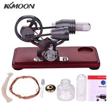 Power-Generator Engine-Motor Flywheel-Design with Colorful Led-Light Kkmoon Stirling