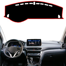 For Hyundai Tucson 2019 Car Dashboard Cover Mat Pad Dashmat
