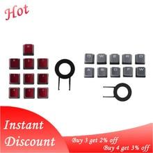10 יח\אריזה Keycaps עבור Corsair K70 K65 K95 G710 RGB לבזוק מכאני מקלדת