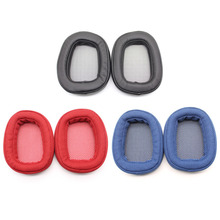 1 Pair High Quality Ear Pads For Logitech G433 Replacement Earpads Memory Foam Cushion Added Comfort And Sound Eh#