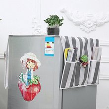 Refrigerator-Dust-Cover Oven-Covers Double-Sided-Storage Non-Woven Household Cloth