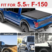 Tonneau чехол мягкий три раза автомобиль грузовик крышка для Ford F 150 09 14 5.5ft 66 дюймов короткая кровать