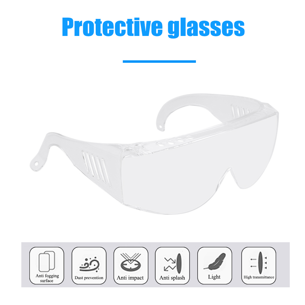 Dust-proof Anti-splash Protective Glasses Adult Windproof Safety Goggles Eyewear Professional Personal Care Supplies
