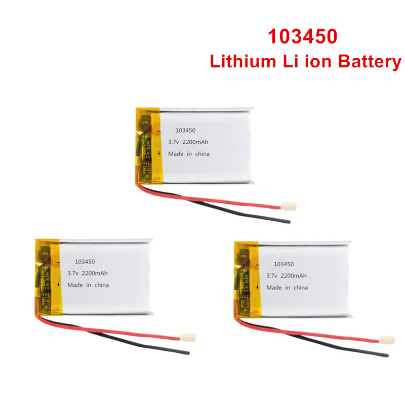 103450 <font><b>3.7V</b></font> <font><b>2000mAh</b></font> <font><b>Lipo</b></font> <font><b>Battery</b></font> Replacement li-ion <font><b>Lipo</b></font> cells Lithium Li-Po Polymer Rechargeable <font><b>Battery</b></font> For Bluetooth speaker image