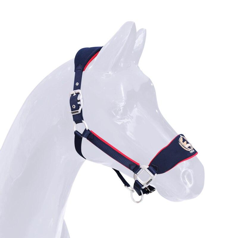 Horse Rope Halter Headcollar Equestrian Equipment Adjustable Thicken Horse Riding Bridle Head Collar Horseback Strap Accessories 2