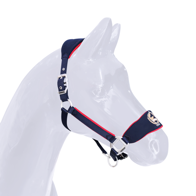 Horse Rope Halter Headcollar Equestrian Equipment Adjustable Thicken Horse Riding Bridle Head Collar Horseback Strap Accessories 2
