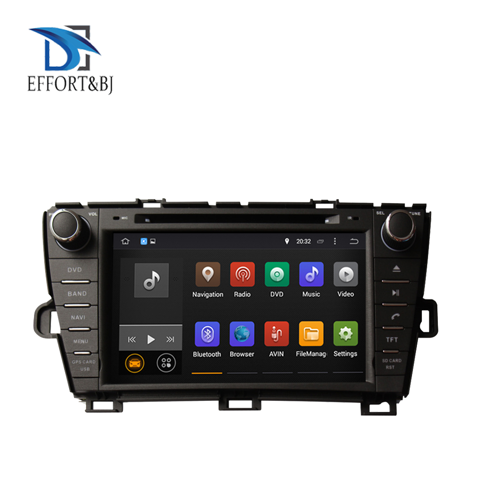 2DIN 1024*600 RAM 4GB Android 9.0 <font><b>Car</b></font> DVD GPS for <font><b>Toyota</b></font> Prius 2009-2019 left <font><b>driving</b></font> <font><b>Car</b></font> Navigation with Bluetooth Auto Radio image