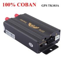 Бренд Coban Gsm/gprs отслеживающий автомобильный gps-трекер Tk103a Tk103 Gps103a трекер в реальном времени датчик удара двери Acc сигнализация