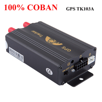 Coban Brand Gsm/gprs Tracking Vehicle Car Gps Tracker Tk103a Tk103 Gps103a Real Time Tracker Door Shock Sensor Acc Alarm