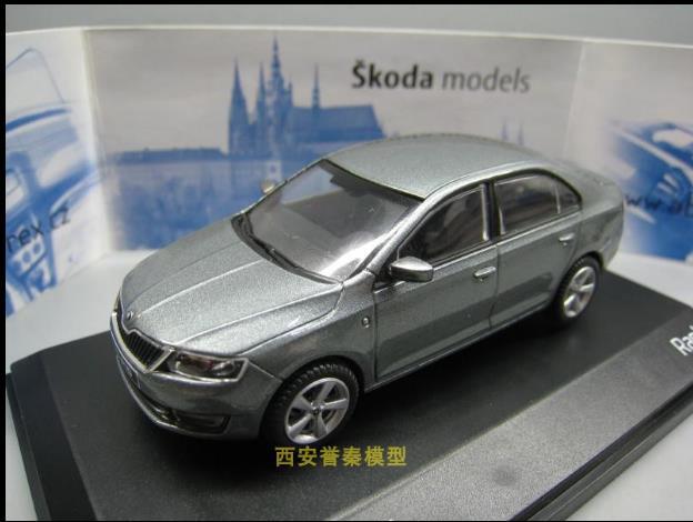 High Simulation 1:43 Alloy SKODA RAPLD Car Model,sliding Children's Toys,free Shipping