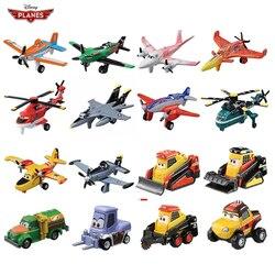 Disney zabawka Pixar 3 samoloty zakurzony Crophopper El Chupacabra Skipper Skipper Ripslinger Metal Diecast samolot zabawki dla chłopca prezent