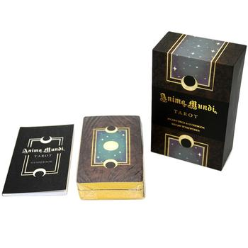 78 Uds serie enchapada en oro anima mundi tarot oráculo divination tarot serie fuera de impresión para fiesta de entretenimiento Personal
