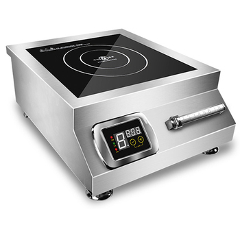 Commercial Induction Cooker 5000w High-power Flat Braised Meat Soup Cooker Stir-fry Induction Cooker 220V 50HZ
