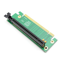 PCI-E Express 16X 90 Degree Adapter Riser Card For 2U Computer Server Chassis Wholesale new 660mm lengthen 2u rear window industrial computer case computer server case