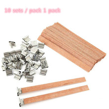 Candle Wick Iron-Stand Wood Making Cores for Natural 10pcs .