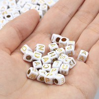 cube 6mm gold 1