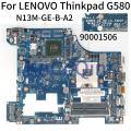 KoCoQin материнская плата для ноутбука LENOVO Thinkpad G580 материнская плата LA-7981P 90001506 SLJ8E N13M-GE-B-A2