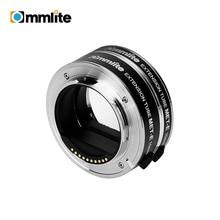 COMMLITE CM MET E Automatic Macro Extension Tube Ring Set Auto Focus TTL Exposure for Sony E mount Mirrorless Cameras & Lens