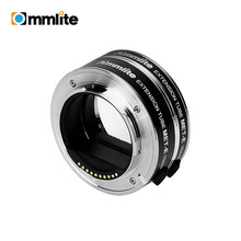 COMMLITE CM MET E otomatik makro uzatma tüpü halka seti otomatik odaklama TTL pozlama Sony e mount aynasız kameralar ve lens