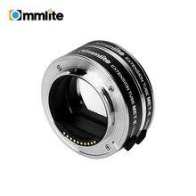 Commlite CM MET E conjunto de anel de tubo de extensão macro automático foco automático exposição ttl para câmeras sem espelho e lente sony e mount