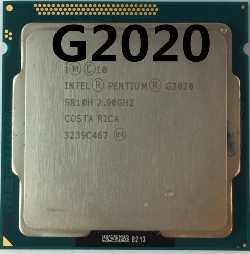 PC Computer Intel Pentium Processor G2020 (3M Cache,2 .9 GHz) CPU LGA 1155 Dual-Core PC Computer Desktop CPU