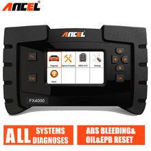 Ancel FX4000 Professional OBD 2 Automotive Scanner ABS EPB Oil Service Reset Full Systems OBD2 Car Diagnostic Tool Auto Scanner