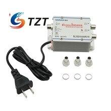 TZT Seebest SB 8620D2 kablo TV sinyal amplifikatörü Splitter güçlendirici CATV amplifikatör 2 çıkış 20DB