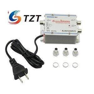 Image 1 - Tzt Seebest SB 8620D2 Kabel Tv Signaal Versterker Splitter Booster Catv Versterker 2 Output 20DB