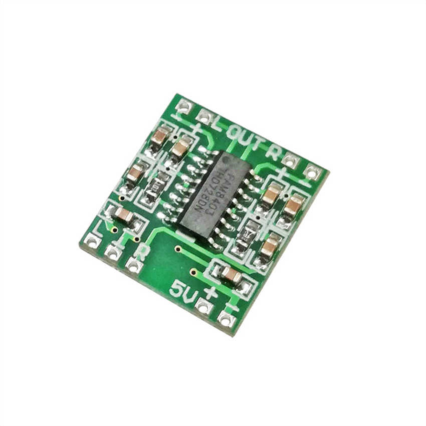PAM8403 Digitale Versterker Boord 2x3W Dual Kanalen USB 5V Mini Audio Versterker Module Klasse D voor TV Notebook Speaker Monitor
