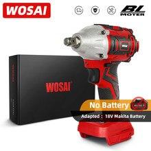 WOSAI – clé électrique de 20V, série MT, moteur sans balais, clé à chocs, batterie Li-ion Rechargeable, outil électrique, perceuse à main sans fil