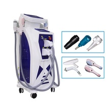 4 In 1 ND YAG Laser  Machine SHR OPT IPL Elight Hair Removal Device Tattoo Removal  Beauty Machine